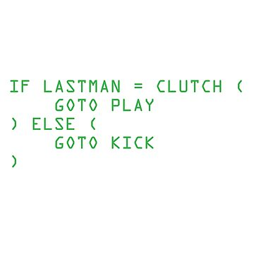 Clutch or Kick Script (Green) [Roufxis] by RoufXis