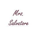 Mrs. Salvatore by PandoraDiAngelo