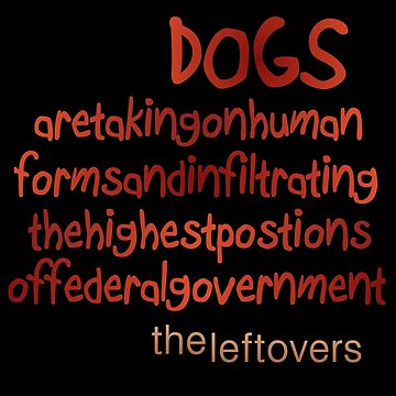The Leftovers Dogs by LWLex
