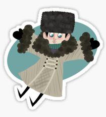 Winter Wonderland Ozzie Sticker
