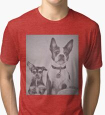Miss Lady and Little Snicks Tri-blend T-Shirt