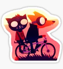 Night in the Woods - Gregg and Mae Sticker