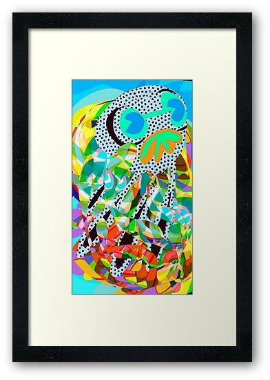 Squid No. 20 - Squid in the Wild by Jon Jackson