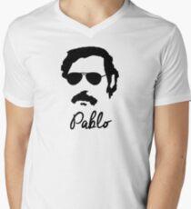 Pablo Escobar Sunglasses Men's V-Neck T-Shirt