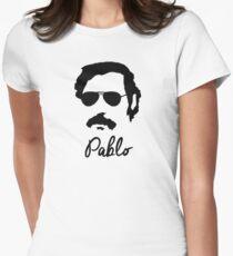 Pablo Escobar Sonnenbrille Tailliertes T-Shirt für Frauen