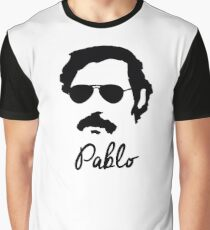 Pablo Escobar Sunglasses Graphic T-Shirt