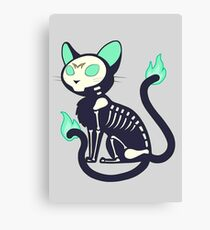Cat, Type: Undead Canvas Print