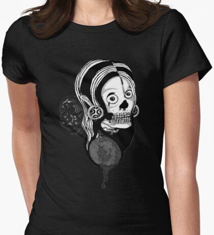 Devil's Rose Black and White T-Shirt