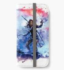 Tomb Raider Painting iPhone Wallet/Case/Skin