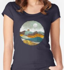 Night Fog Women's Fitted Scoop T-Shirt