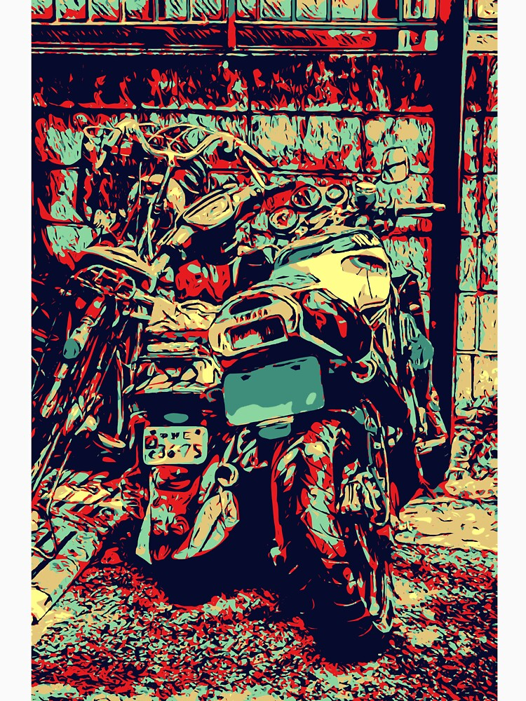 Red Yamaha by BrendanARing