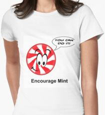 ENCOURAGEMENT (ENCOURAGE MINT) Women's Fitted T-Shirt