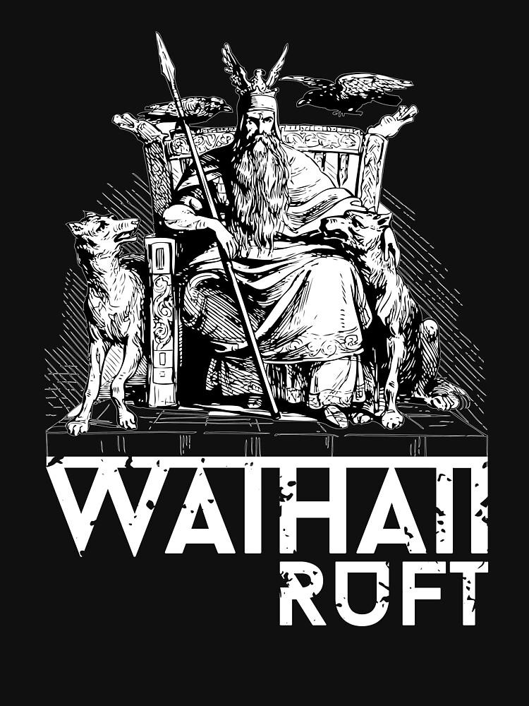 Odin Valhalla Awaits / Wikinger / Vikings by norwik