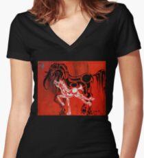 Follower Women's Fitted V-Neck T-Shirt
