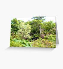 Dunvegan Castle Gardens Greeting Card