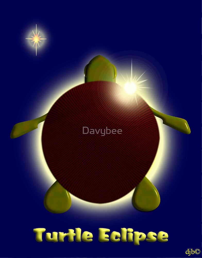 Turtle eclipse by Davybee