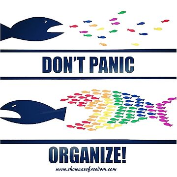 Don't Panic Organize by CavalierInspire