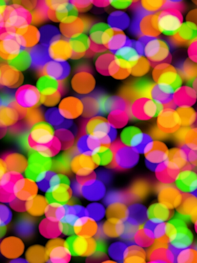 Multicolored lights by fourretout