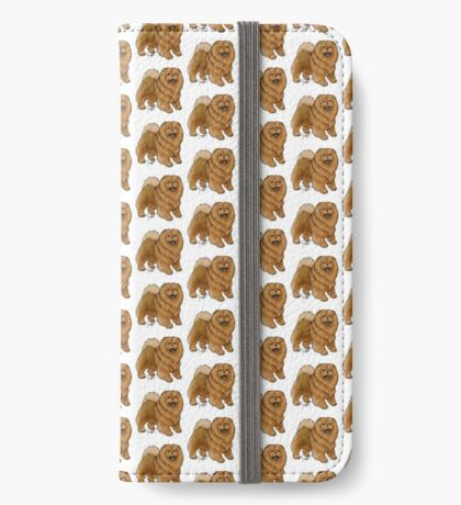 Chow Chow iPhone Wallet