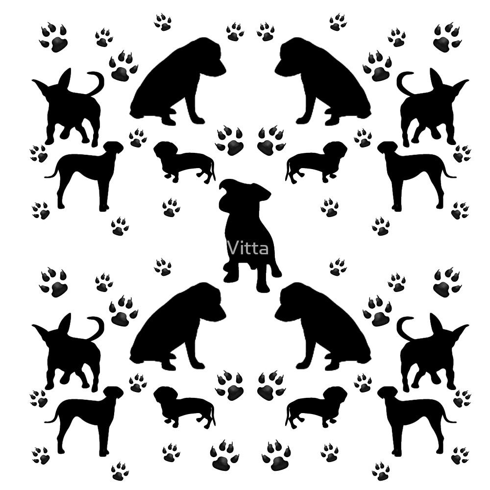Black Dogs by Vitta