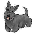 Scottish Terrier by Jennifer Stolzer
