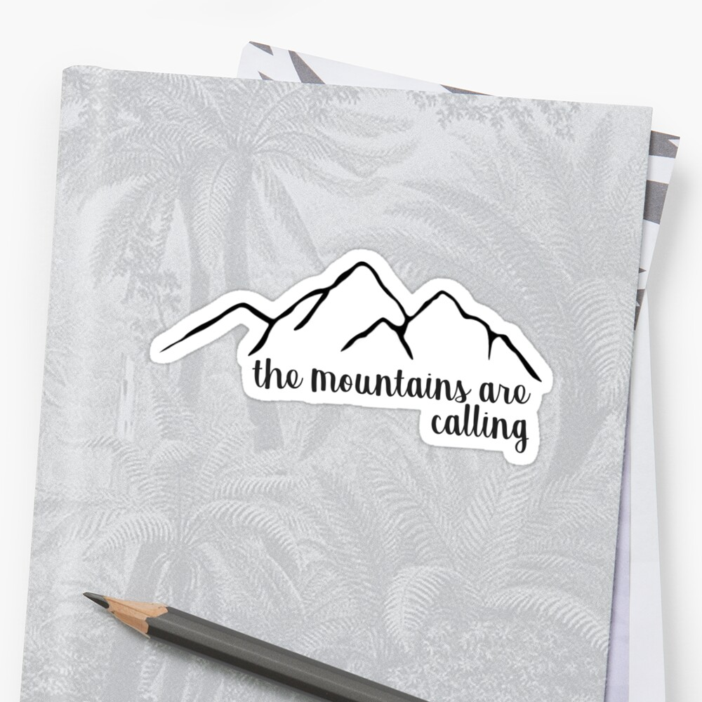 The Mountains are Calling by annmariestowe