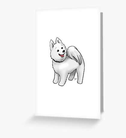 Samoyed Greeting Card