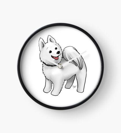 Samoyed Clock