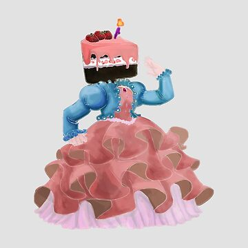 German Chocolate Cake Princess by MadeleineFoley