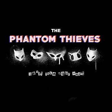 Phantom Thieves by weinerdawg