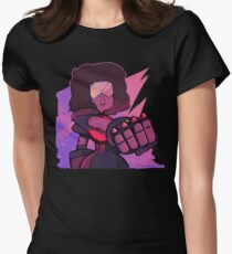 Square Mom Womens Fitted T-Shirt