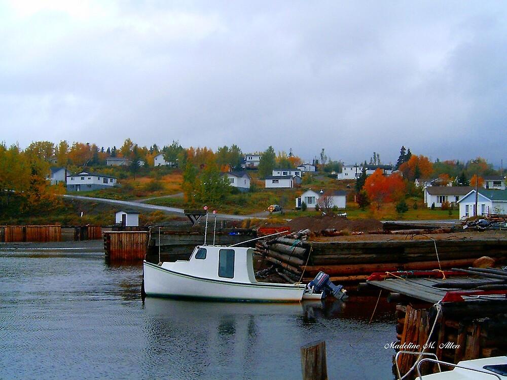 Autumn Splendor by Madeline M  Allen