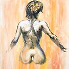 Female Nude by Roz McQuillan