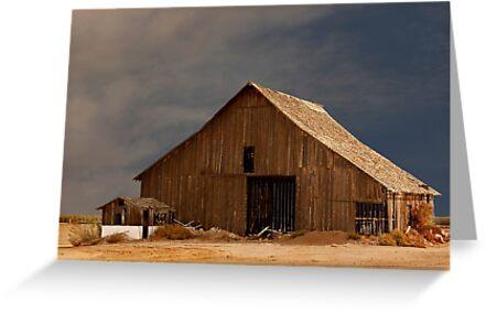 An Old Barn in Rural California by Buckwhite