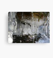 Freezing Waterfall Canvas Print