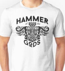 Hammer Of The Gods / Wikinger / Vikings / Schwarz Unisex T-Shirt