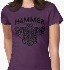 Hammer Of The Gods / Wikinger / Vikings / Schwarz T-Shirt