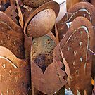 Rusty Cherubs by phil decocco