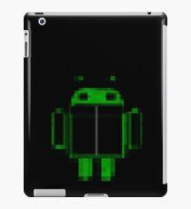 Black hoody droid iPad Case/Skin