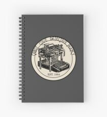 Cabot Cove Detective Agency Spiral Notebook