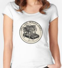 Cabot Cove Detective Agency Women's Fitted Scoop T-Shirt