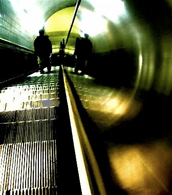 Lonesome Escalator by Caitlin Dodge