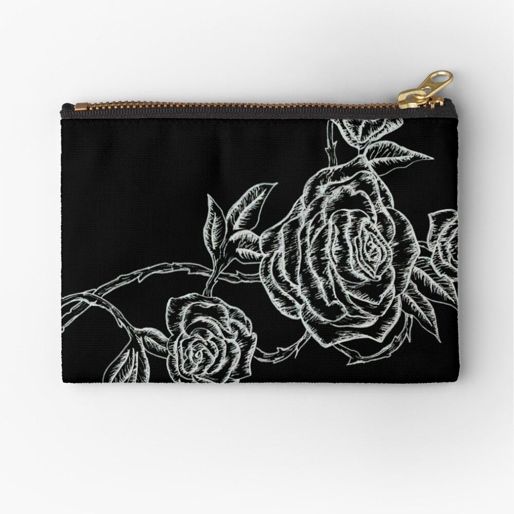 Inked Roses - Invertido Bolsos de mano
