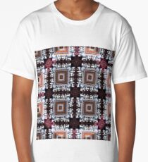 Squares and Rings and Railroad Ties Long T-Shirt