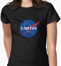 Nasa Tardis Womens Fitted T-Shirt