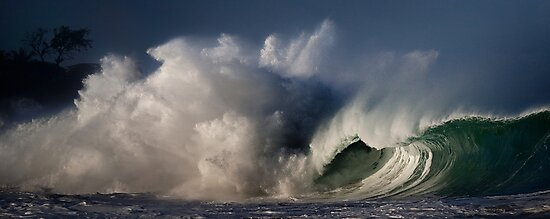 Winter Waves At Waimea Bay 4 by Alex Preiss