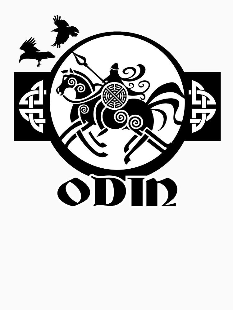 Odin Sleipnir / Wikinger / Vikings / Black by norwik