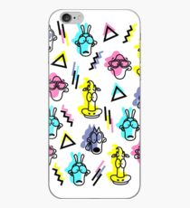 Rocko's modern life online- style memphis iPhone Case
