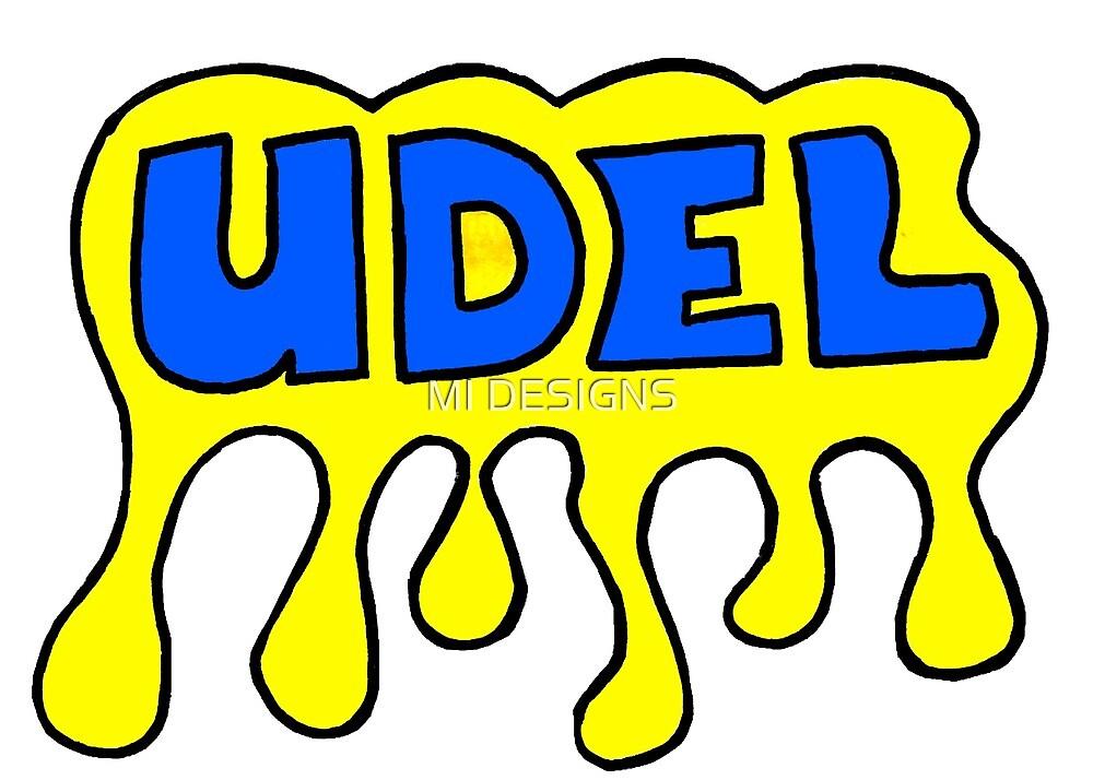 UDelaware Bubble by MI DESIGNS