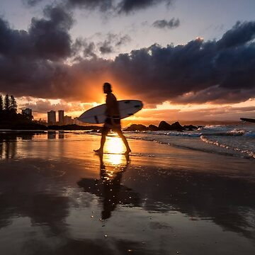 Snapper Rocks Sunset by drec